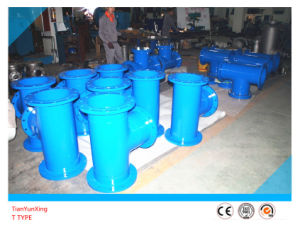 ANSI Carbon Steel Welded Flanged End T-Strainer pictures & photos