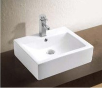 Ceramic Ware Wash Basin with Bathroom Accessories (W7140) pictures & photos