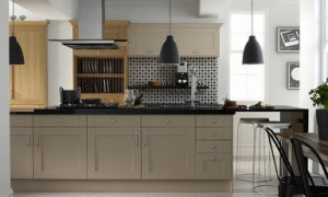 Kitchen Furniture Melamine Faced Kitchen Cabinet pictures & photos