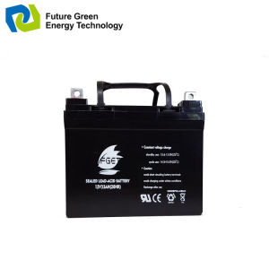 12V 33ah Maintenance Free Solar Lead Acid Storage Batteries pictures & photos
