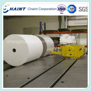 Non Woven Fabric Roll Handling and Wrapping System After Textile Machine pictures & photos