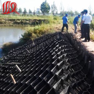 High Quality HDPE Geocell with Holes on The Surface pictures & photos