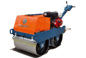 550kg Walk-Behind Double Drums Vibratory Roller Yl31 pictures & photos