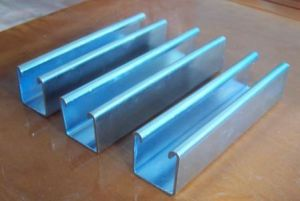 Cold Bend C Type Steel Galvanized C Channel pictures & photos