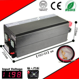 6000W DC-AC Inverter 12VDC or 24VDC 48VDC to 110VAC or 220VAC Pure Sine Wave Inverter pictures & photos