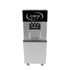 Table Model Ice Cream Machine with Pre-Cooling System (Oceanpower OP138CS) pictures & photos