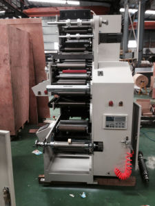 High Speed Label Flexography Printing Machine in Sale pictures & photos