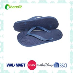 Soft EVA Sole and PVC Straps, Men′s Slippers pictures & photos