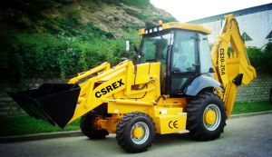CE XCMG Jcb Backhoe Loader with New Design pictures & photos
