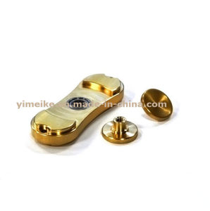 High Quality Torpbar Brass Gold Silver Handspinner Promotional Gift pictures & photos