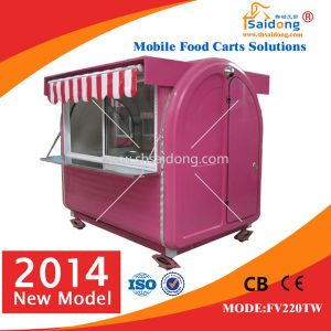 New Type Mobile Fast Food Car/Food Cart/Food Selling Car