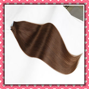 Factory Price Remy Hair Extensions Skin Weft Silky 18inches pictures & photos