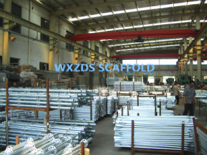 Zds Good Quality HDG Ringlcok Scaffold/ Formwork Ringlock Scaffolding pictures & photos