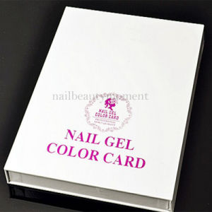 120/216/308 Nail Color Display Chart Salon Use Color Book (M28)