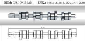 Auto Camshaft for VW (038.109.101ah) pictures & photos