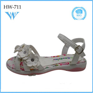 New Design Pretty Cute Colorful Kids Shoes Sandal for Girls pictures & photos