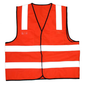 En20471 High Refletive Warning Safety Vest pictures & photos