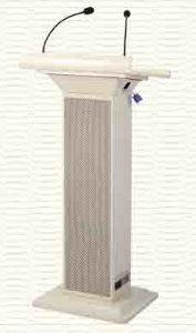 Smart Podium, Smart Lectern with Wireless Microphone