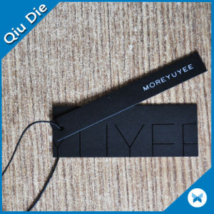 Mic Black Paper Hangtag for Jeans Wholesale pictures & photos