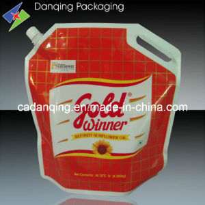 Oil Pouch, Stand up Pouch with Spout and Cap (DQ113) pictures & photos