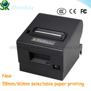 New 80mm POS Receip Thermal Printer with 2 Paper Roll Choice (SK D600) pictures & photos