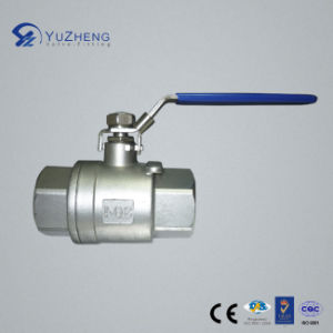 Stainless Steel 2PC Ball Valve with DIN M3 Standard pictures & photos