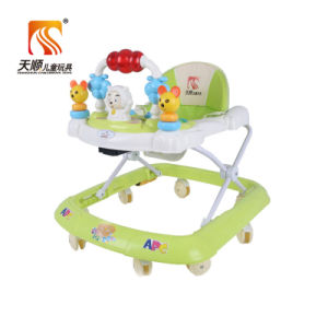 2017 Factory Wholesale Rotating Old Style Baby Walker pictures & photos
