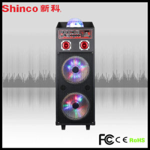Audio Economic Trolley Bluetooth Wireless MP3 FM/USB/SD/Mic/ Speaker pictures & photos