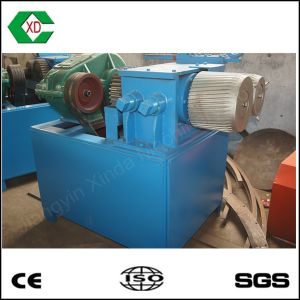 Small Dual Roller Tire Steel Wire Separator Tyre Recycling Machine pictures & photos