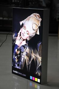 Textile Aluminium Advertising LED Display pictures & photos
