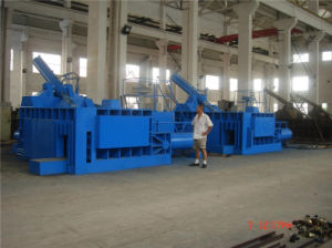 3150 Kn Hydraulic Press Scrap Metal Baler pictures & photos