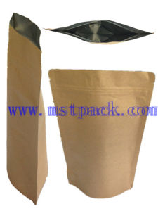 Kraft Paper Stand up Zipper Pouch/ Foil Packaging Bag pictures & photos