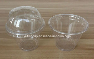 12oz Food Grade Disposable Plastic Cup, Plastic Cup with Lid pictures & photos