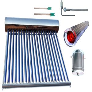 Solar Hot Water Heating System (Vacuum Tube Solar Collector) pictures & photos