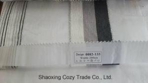 New Popular Project Stripe Organza Voile Sheer Curtain Fabric 0082133 pictures & photos