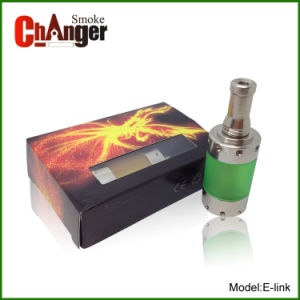 Huge Vapor Stainless Deluxe E-Link Genesis Atomizer, Rebuildable 510 Clearomizer