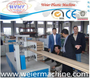 WPC Door and Window Frame Extrusion Machine (PVC+WOOD) pictures & photos