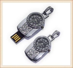 New Watch Diamond USB Flash Disk Pen Drive (ED012) pictures & photos