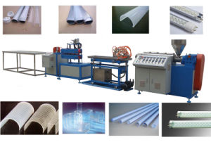 T8 PC PMMA PS LED Lighting Cover Extrusion Machine pictures & photos