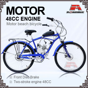 48cc Engine 26 Inch Motor Chopper Bicycle (MB-04) pictures & photos