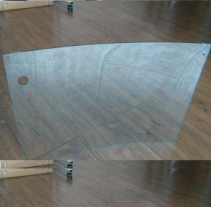 6mm Clear Curved Glass for Showcase pictures & photos