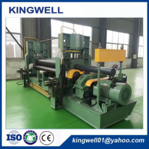 W11s-12X3000 Hydraulic Steel Plate Bending Rolling Machine pictures & photos