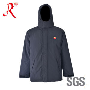 New Style Waterproof, Breathable, Rain Coat, Work Jacket (QF-758) pictures & photos