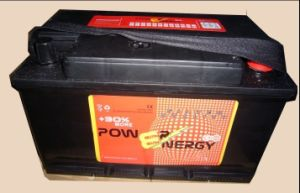 DIN75mf 12V75ah Maintenance Free Lead Acid Car Battery pictures & photos