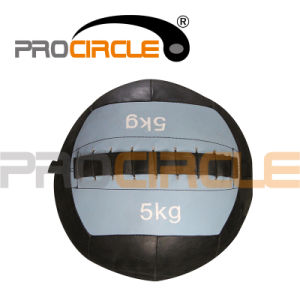 2014 New Style Crossfit PU Leather Wall Ball (PC-MB1115) pictures & photos