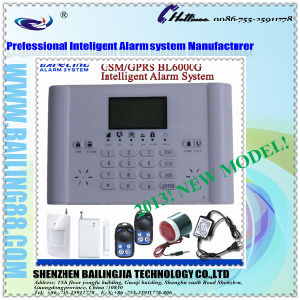 2013 Newest Home Security GSM Intelligent Alarm System, Support Calling & Send SMS MMS (BL-m-6000G)