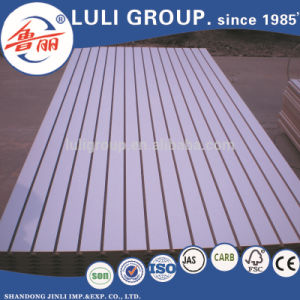 Slotted Board /Slotted MDF Board From China Luli Group pictures & photos