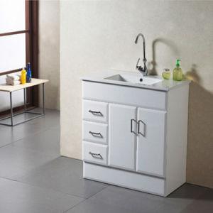 Wooden Bathroom Cabinet with Sink Bathroom Vanity / Bathroom Vanity pictures & photos