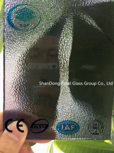 Gray Nashiji Patterned Glass with Ce, ISO (3-8mm) pictures & photos