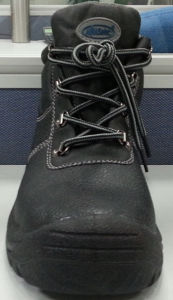 Nmsafety Low Price Cow Split Leather Safety Work Shoes pictures & photos